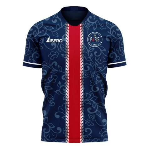 Paris 2020-2021 Home Concept Football Kit (Libero)