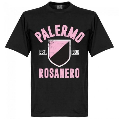 Palermo Established T-Shirt - Black