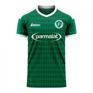 Palmeiras 2020-2021 Home Concept Football Kit (Libero) - Little Boys