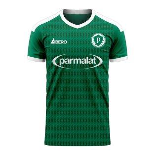 Palmeiras 2020-2021 Home Concept Football Kit (Libero)