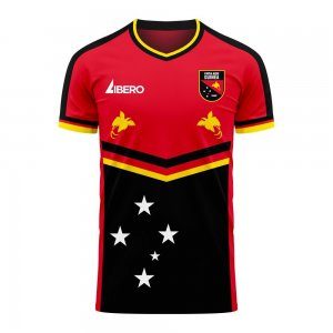 Papua New Guinea 2020-2021 Home Concept Football Kit (Libero)