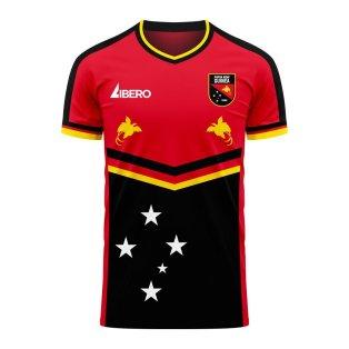 Papua New Guinea 2020-2021 Home Concept Football Kit (Libero) - Womens