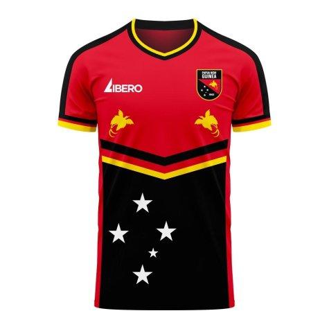 Papua New Guinea 2020-2021 Home Concept Football Kit (Libero) - Baby