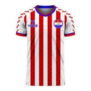 Paraguay 2020-2021 Home Concept Football Kit (Viper) - Kids