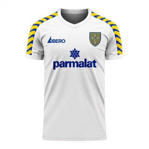Parma 2020-2021 Home Concept Football Kit (Libero) - Little Boys