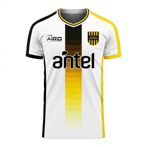 Penarol 2020-2021 Away Concept Football Kit (Airo)