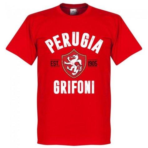 Perugia Established T-shirt - Red