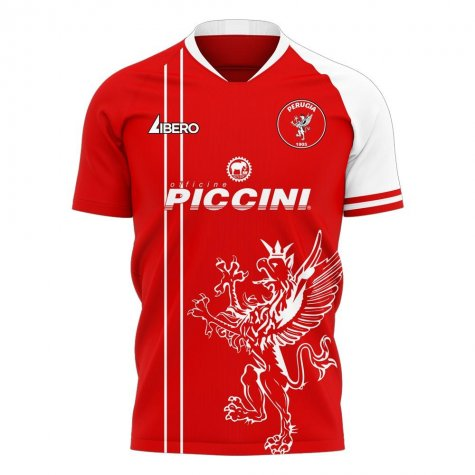 Perugia 2020-2021 Home Concept Football Kit (Libero)