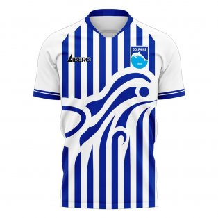 Pescara 2020-2021 Home Concept Football Kit (Libero)