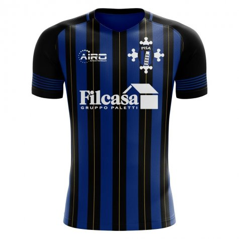 Pisa 2020-2021 Home Concept Football Kit (Airo) - Little Boys