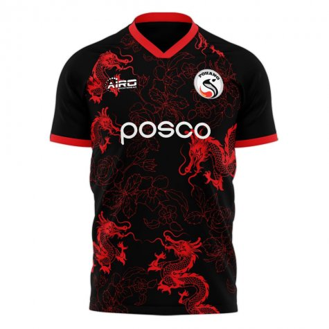 Pohang Steelers 2020-2021 Home Concept Football Kit (Airo)