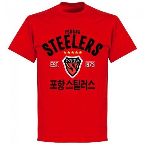 Pohang Steelers Established T-shirt (Red)