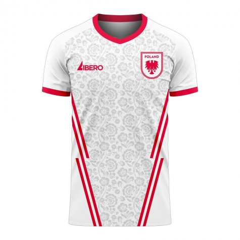 Poland 2020-2021 Home Concept Football Kit (Libero)