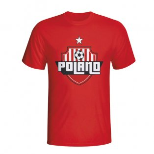 Poland Country Logo T-shirt (Red)