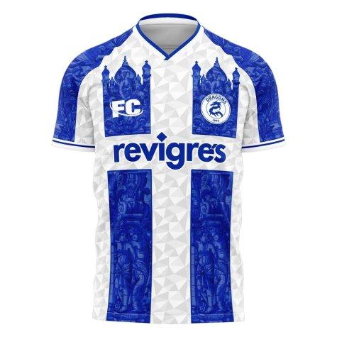 Porto 2020-2021 Home Concept Football Kit (Fans Culture)