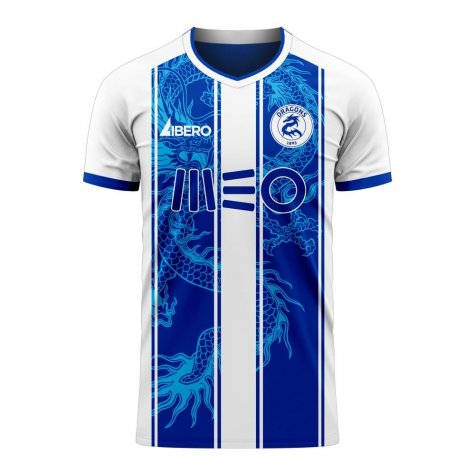 Porto 2020-2021 Home Concept Football Kit (Libero) - Womens