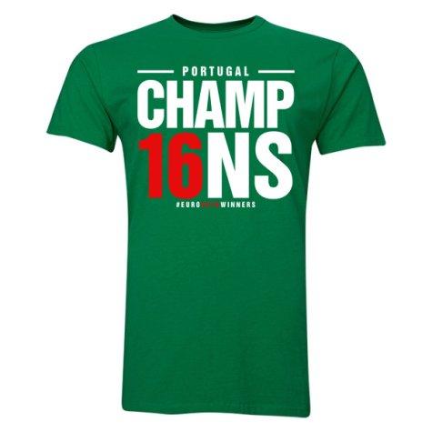 Portugal Euro Champions T-Shirt (Green)