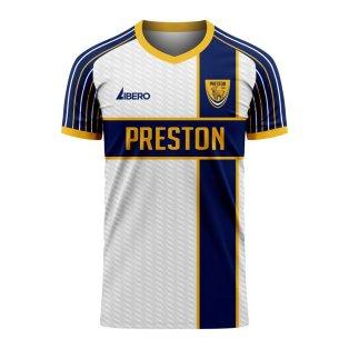 Preston 2020-2021 Home Concept Football Kit (Libero)