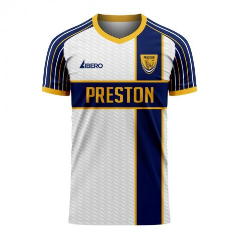 Preston 2020-2021 Home Concept Football Kit (Libero) - Little Boys