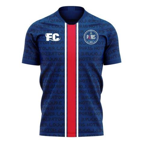 Paris 2020-2021 Home Concept Football Kit (Fans Culture) - Kids