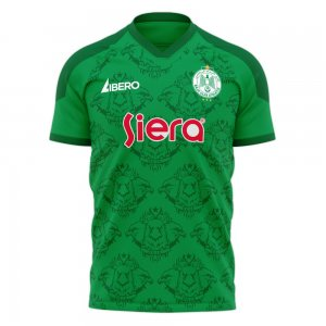 Raja Casablanca 2020-2021 Home Concept Football Kit (Libero)