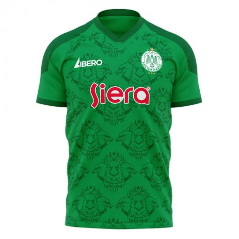 Raja Casablanca 2020-2021 Home Concept Football Kit (Libero)