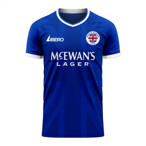 Glasgow 2020-2021 Home Concept Football Kit (Libero) - Womens
