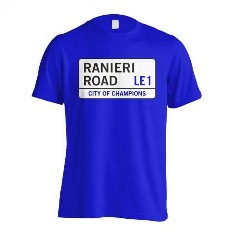 Ranieri Road - Leicester Street T-Shirt (Blue) - Kids