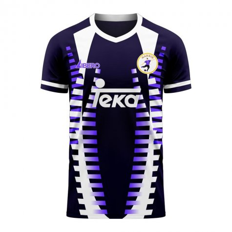 Madrid 2020-2021 Third Concept Football Kit (Libero) - Womens