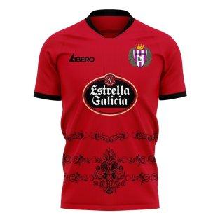 Real Valladolid 2020-2021 Away Concept Football Kit (Libero)