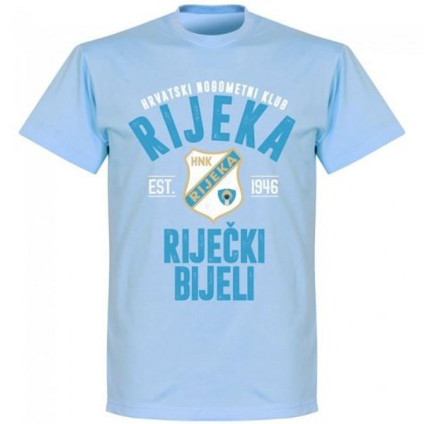 Rijeka Established T-shirt - Sky