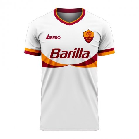 Roma 2020-2021 Away Concept Football Kit (Libero) - Baby