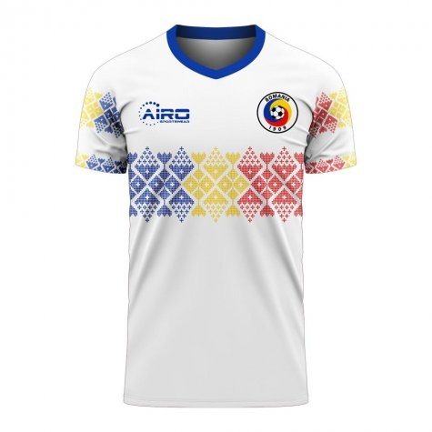 Romania 2020-2021 Away Concept Football Kit (Libero) - Little Boys