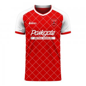 Rotherham 2020-2021 Home Concept Football Kit (Libero) - Kids