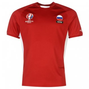 Russia UEFA Euro 2016 Poly Training Tee (Red)