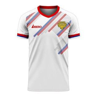 Russia 2020-2021 Away Concept Football Kit (Libero ...