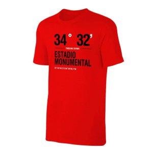 River Plate \'Stadium Coordinates\' t-shirt - Red