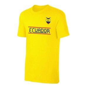 Ecuador CA t-shirt - Yellow