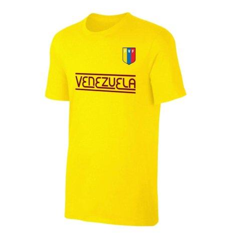 Venezuela CA Qualifiers t-shirt - Yellow