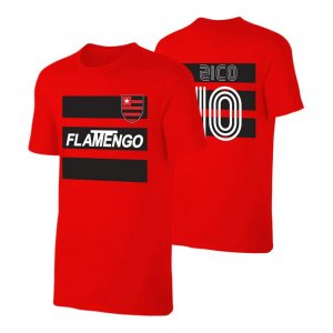 Flamengo retro t-shirt ZICO - Red