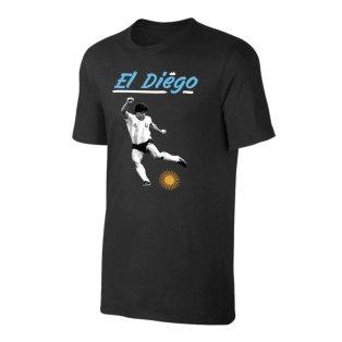 Argentina El Diego t-shirt - Black