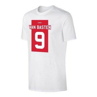 Marco Van Basten Amsterdam T-Shirt (White)