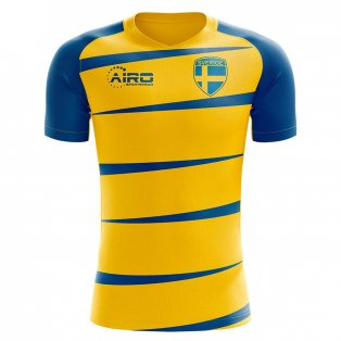 Sweden 2020-2021 Home Concept Football Kit (Airo)