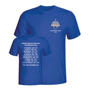 2015 St Johnstone European Tour T-Shirt (Kids)