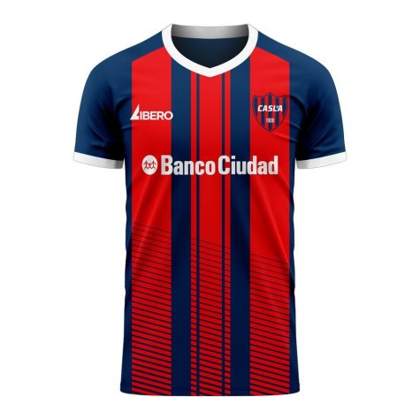 San Lorenzo 2020-2021 Home Concept Football Kit (Libero) - Baby
