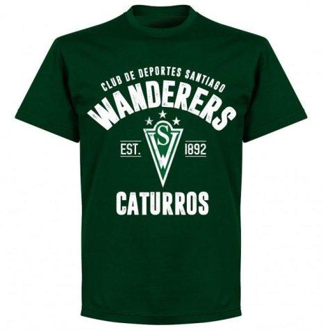 Santiago Wanderers Established T-Shirt - Bottle Green