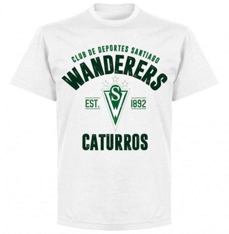 Santiago Wanderers Established T-Shirt - White
