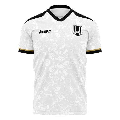 Santos 2020-2021 Home Concept Football Kit (Libero) - Baby