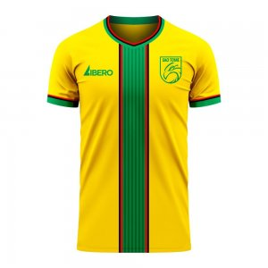 São Tomé and Príncipe 2020-2021 Home Concept Football Kit (Libero) - Little Boys