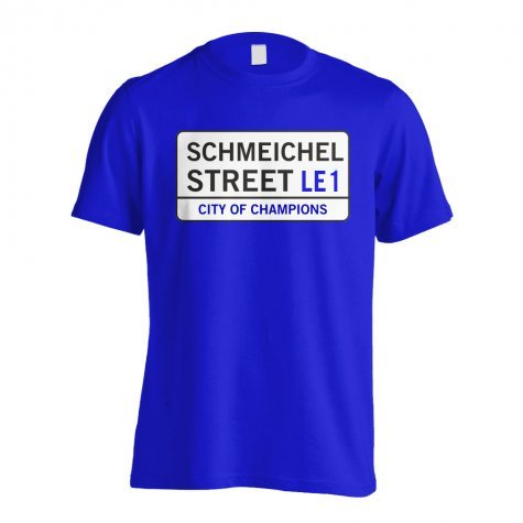 Schmeichel Street - Leicester Street T-Shirt (Blue) - Kids